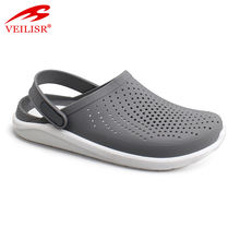 Famous Amazon Hot Selling Factory price Outdoor summer PVC Sabots men plastic garden sandals Clogs shoes