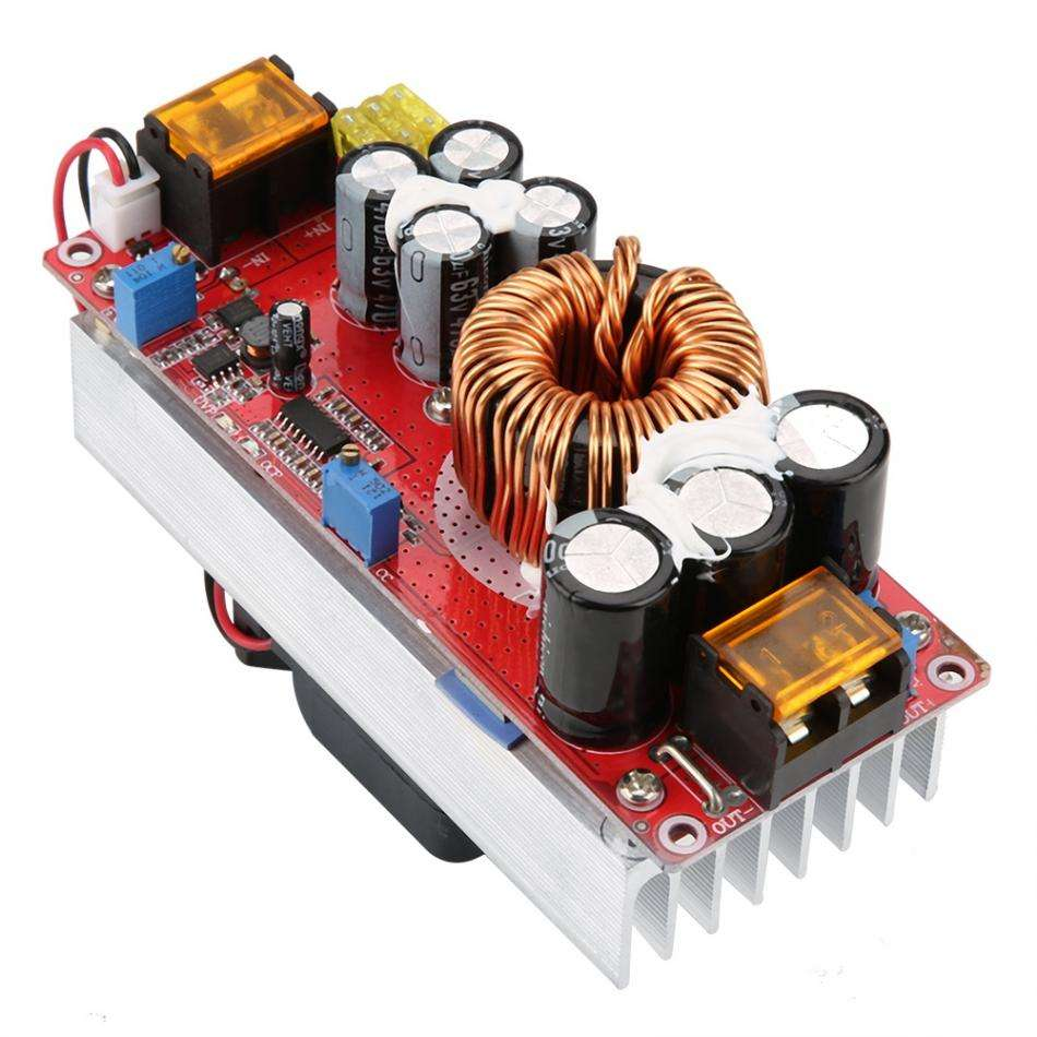 1500W 30A Voltage increase lifting go Step Up Converter Boost for DC DC input 10-60V output 12-97V