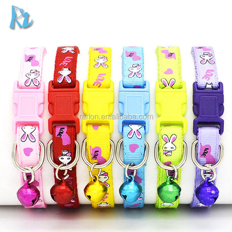 Pet Supplies New Stocked Pet Dog Cat Collars Cute Small