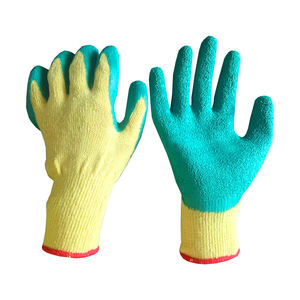cotton latex working gloves