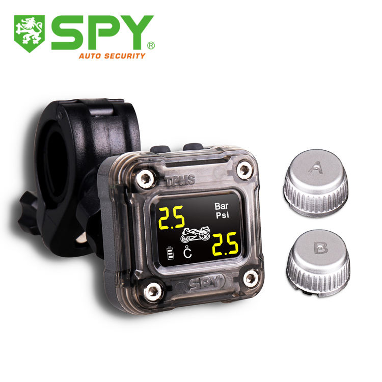 Spy Waterdichte Bandenspanningscontrolesysteem Motorfiets Tpms