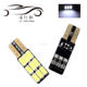 Super bright W5W T10 5630 9smd car lights led canbus car T10 led bulbs 194 168 2825 Car Side Wedge Light Automotive