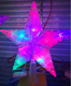 New Star Led Light Colorful Changing Christmas Tree Topper Star For Party Holiday Ornament