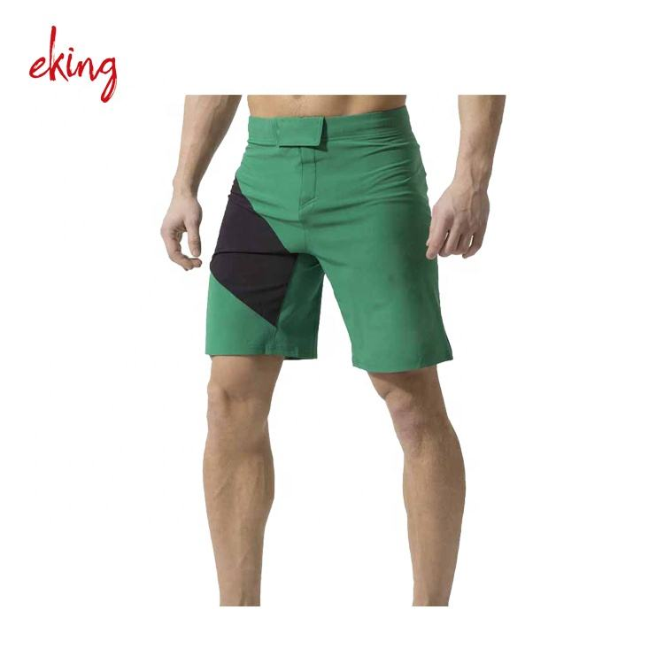 High quality dry fit martial arts wear polyester mma shorts