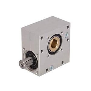 ratio 40:1 mini micro miniature aluminum housing small worm gearbox for rotating stage or valve