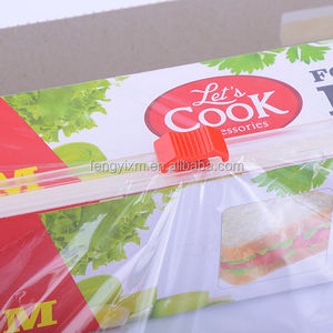 PE biodegradable cling film with slider cutter