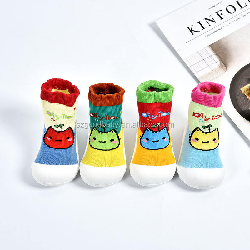 Reliable quality fancy kids baby Stylish socks shoes