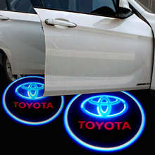 New Adhesive LED Car Logo Lights With 3M Tape,car shadow ghost laser light
