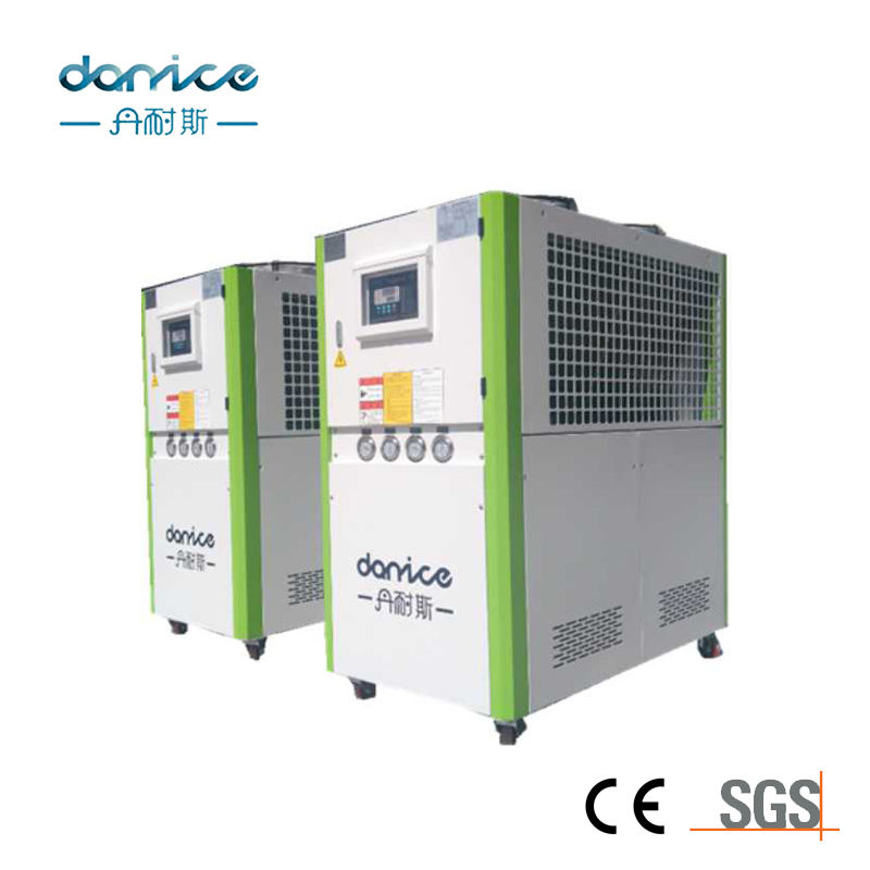 Competitive price CE environmental protection refrigerant R134a R407c 34kw explosion-proof seawater chillers