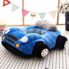 New car cartoon baby seat pillow sofa plush toy children sofa pillow gift wholesale