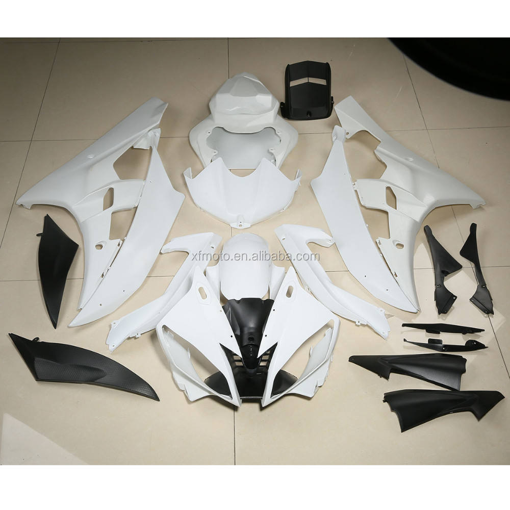 Fairing Kit For Yamaha YZF R1 2004-2006 Unpainted ABS Injection Bodywork 2005