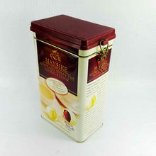 Best quality plastic lid coffee tin,coffee tin box,coffee tin can