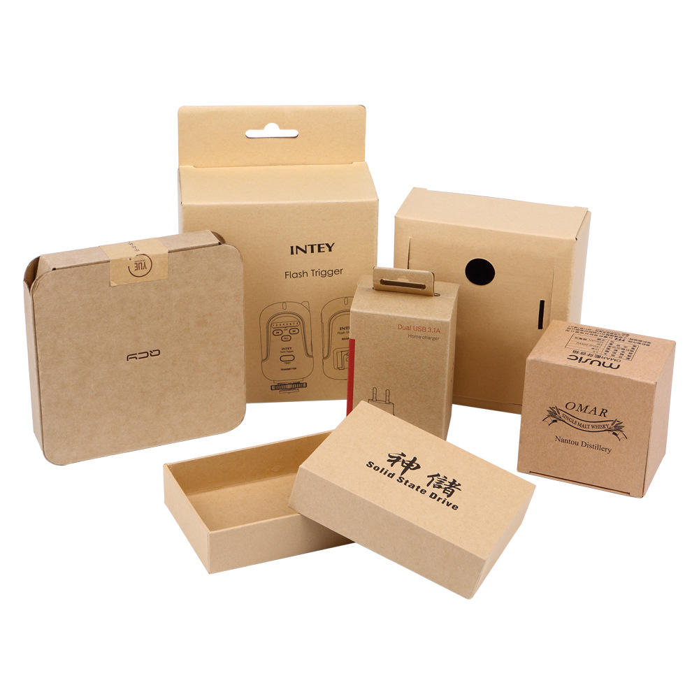 Factory direct selling box paper 400gsm product packaging 300 gsm advertising by video and printing