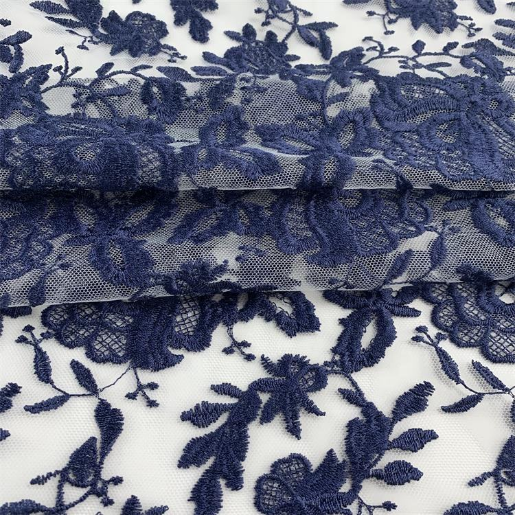 Sample free textiles mesh embroidered wholesale cheap brocade online fabric
