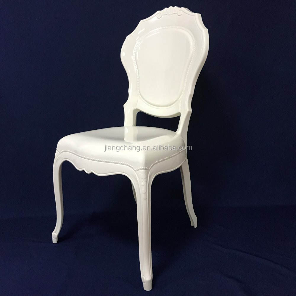 Polycarbonate Princess Chair PC Ivory Wedding Bella Chair