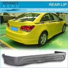 FOR 11-12 CHEVROLET CRUZE TYPE-1 POLY URETHANE REAR BUMPER LIP SPOILER BODY KITS