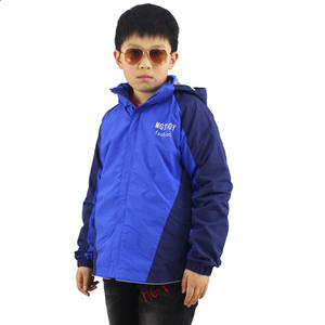 2017 New Design Boy Outwear Clothing Children Spring Softshell Jacket Coat for Age 13Y-16Y