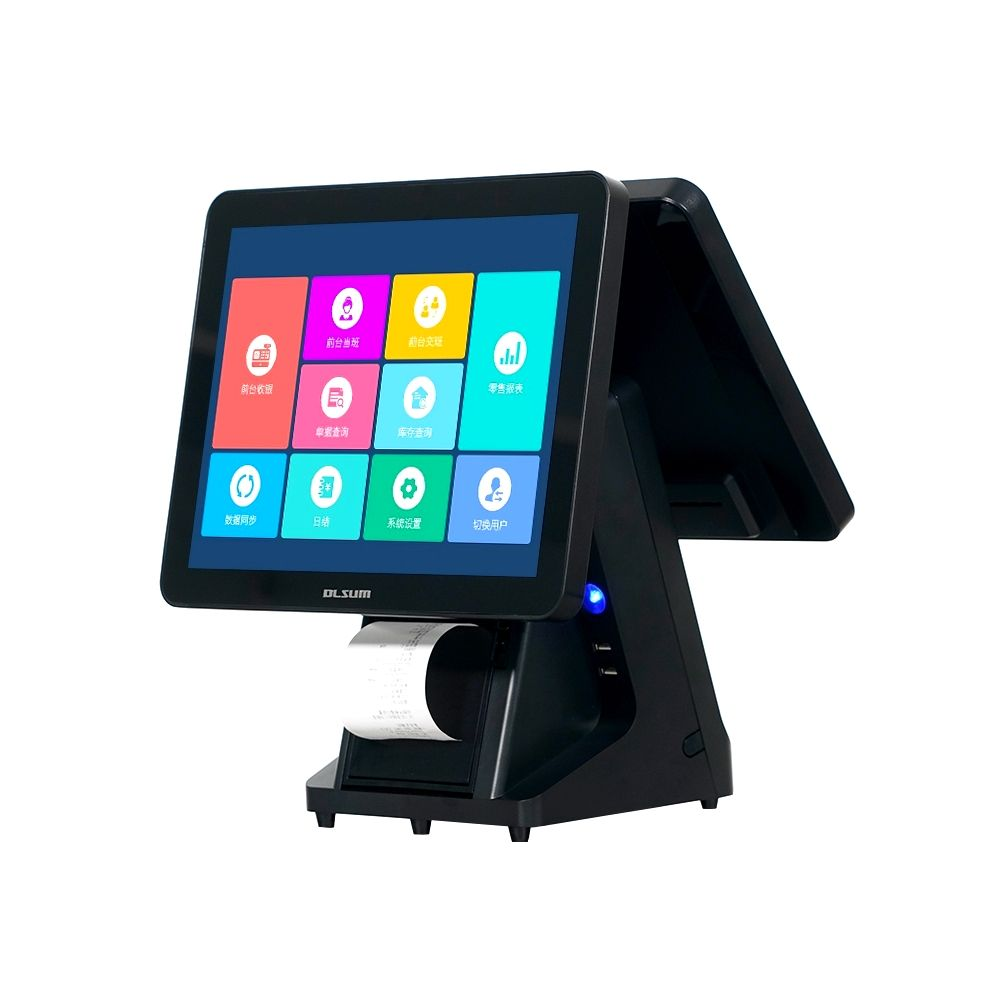 Factory Prijs Windows POS Terminal 15 Inch Capacitieve Touchscreen POS Machine Alles In Een Pos-systeem