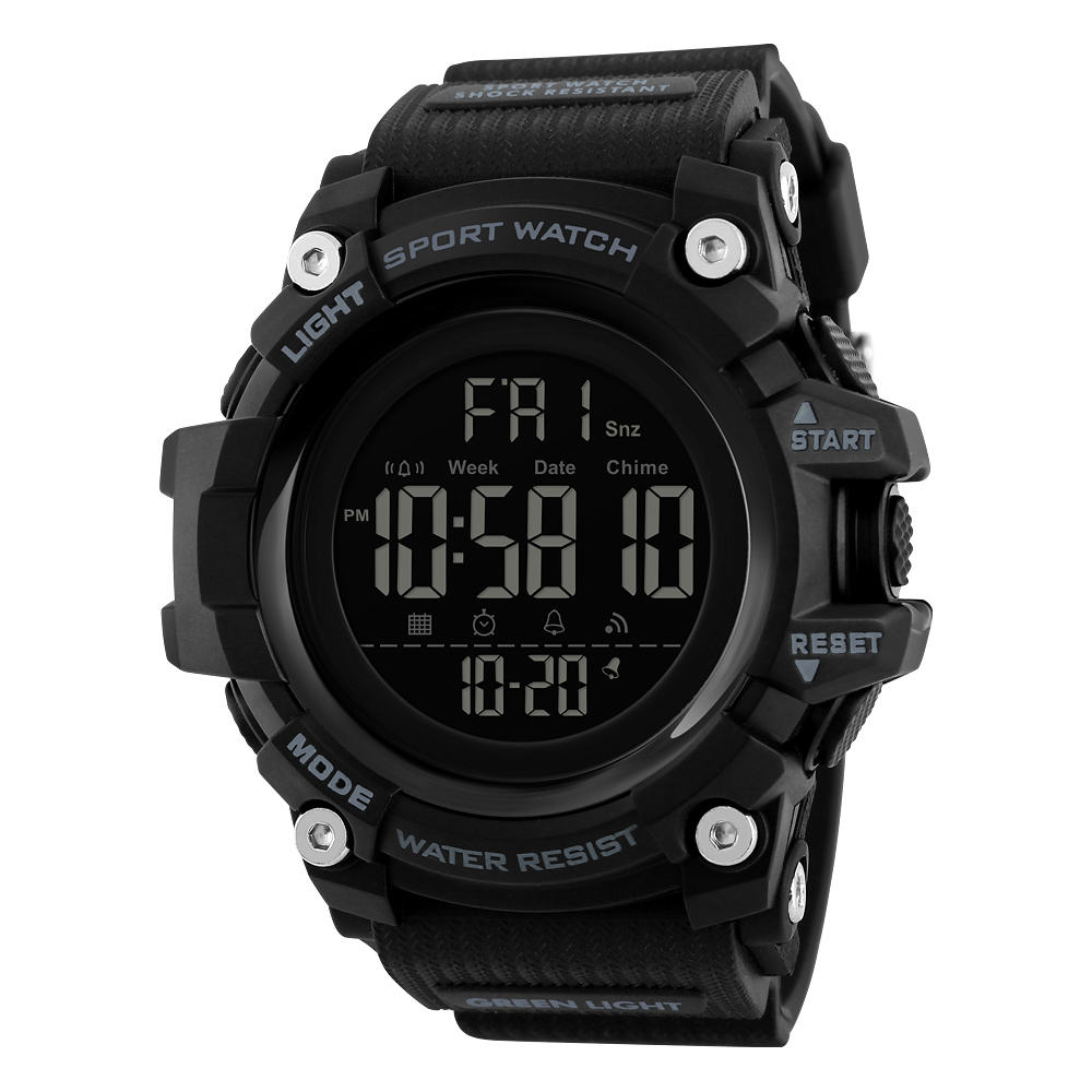 SKMEI 1384 Men Digital Movement Wrist Watch Fashion Casual Sport Plastic Brand Analog Watches