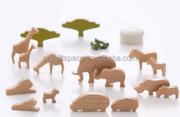 2018 new fashion hotsale China child elephant/giraffe/horse gift wholesale decorative kid ornament handmade wood craft animals