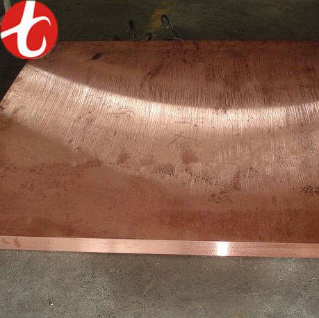 99.9% pure copper in stock thick astm C10100 C10200 C11000 C12000 copper sheet / copper plate