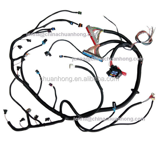 1999 - 2003 Vortec 4.8 5.3 6.0 CNCH 4L60E 4L80E Transmission Standalone Wiring Harness for CHEVROLET, GMC, HUMMER truck engine