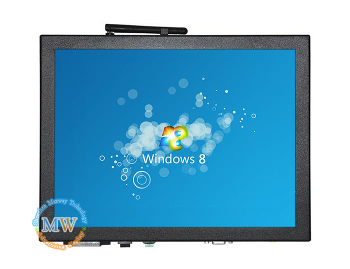 15 inch open frame embedded touch screen computer, pc all in one