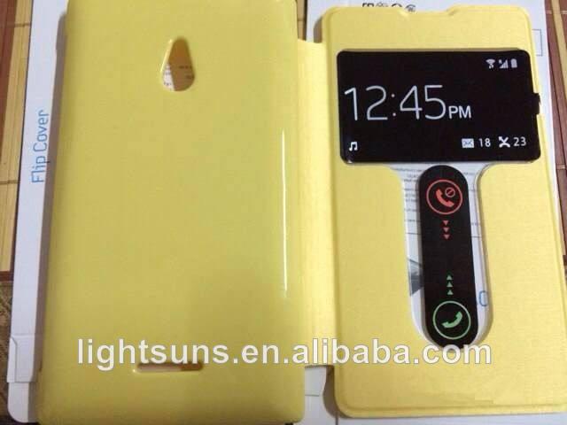 Baratos do telefone móvel caso de couro, telemóvel <span class=keywords><strong>tampa</strong></span> flip/escudo do telefone para nokia xl
