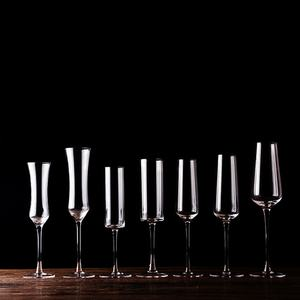 Luxury Party Toasting Glasses Wedding Wine Glass Crystalline Champagne Flutes