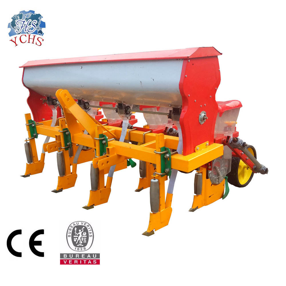 Seed and Fertilizer 4 Row Corn Planter for Sale