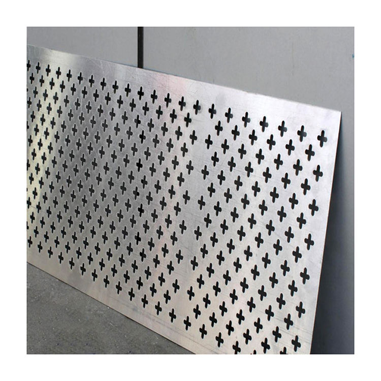 circle hole galvanized perforated iron sheet