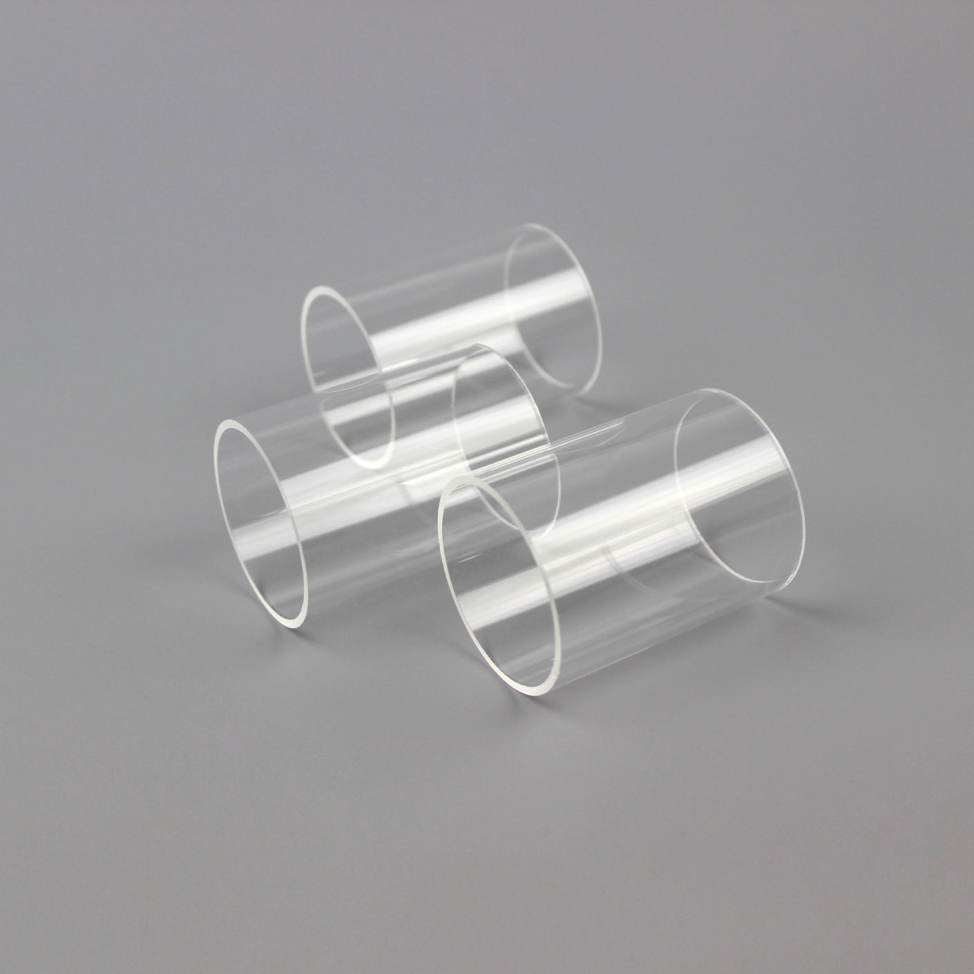 JD Wholesale Heat Resistant Clear Borosilicate Glass Tube