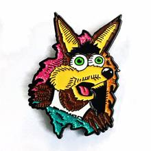 creat enamel badge pin custom logo online/enamel joker pin badge