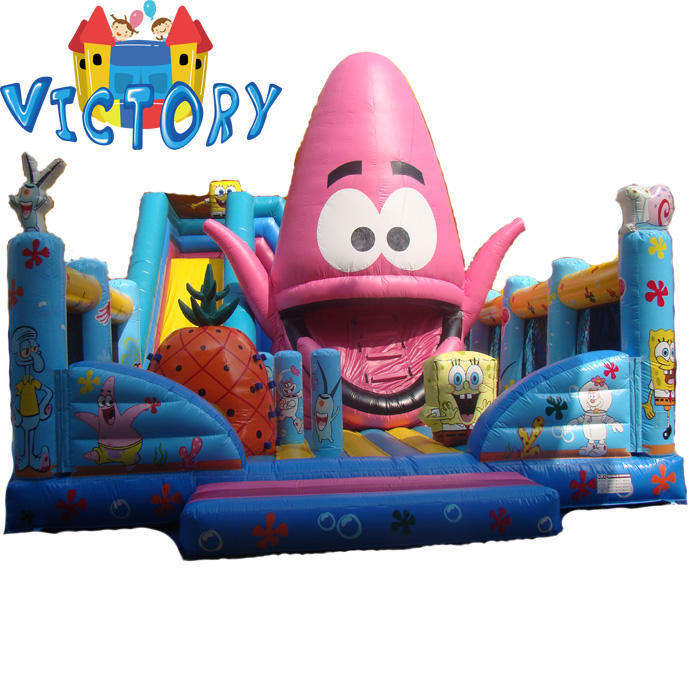 2019 Best Sale Inflatable Jumping Castle Inflatable Fun City