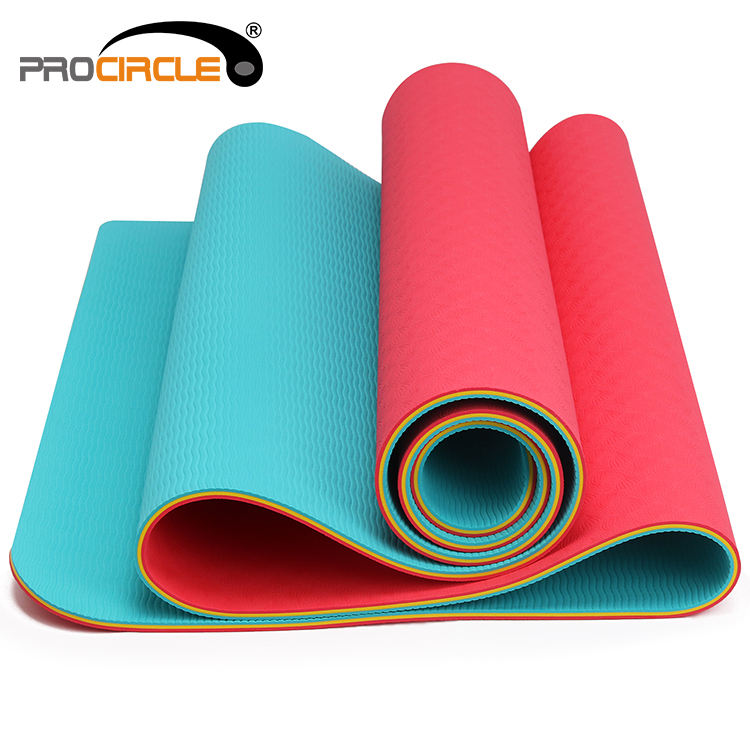 Eco Friendly Fitness Foldable Travel Yoga Mat