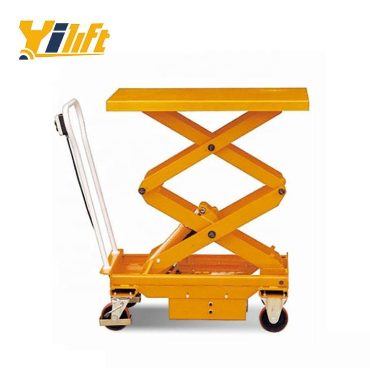 Hydraulic Scissor Lift Table Scissor Lift Table CE Approved Mini Hydraulic Automotive Electric Scissor Lift Table With 2 Scissors
