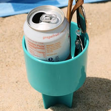 Sand Coaster Beach Drink Cup Holder/Bottle Holder/Beach Drink Cup Stand
