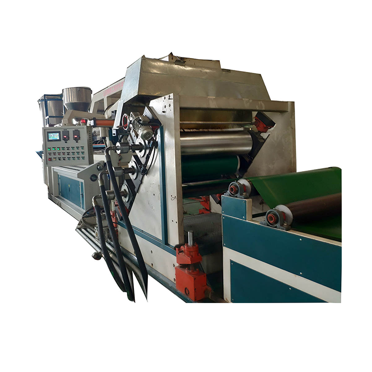 1200mm Width HDPE/HIPS/LDPE geocell/geomembrane extrusion line