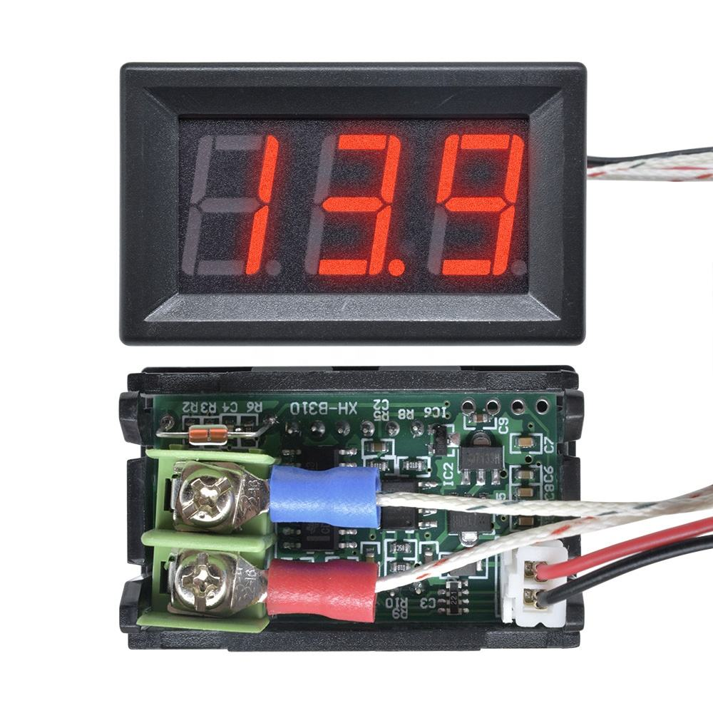 Diymore XH-B310 Digital tube LED Display Thermometer 12 V Temperatuur Meter type K M6 Thermokoppel Tester-30 ~ 800C thermografiek