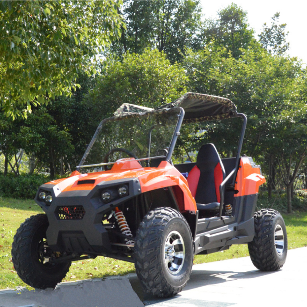 200CC adult ATV double seat four wheel UTV refueling double motorcycle