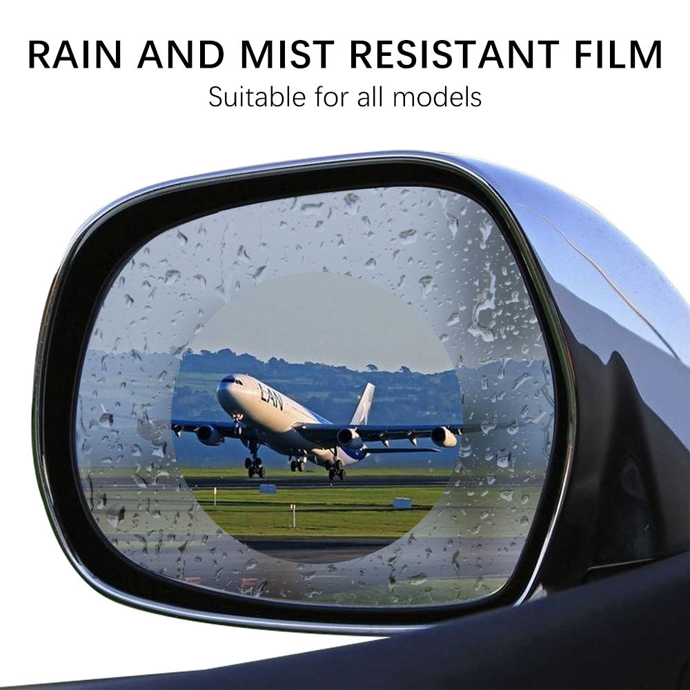 Newest Screen Protector Anti Rain Anti Fog Car Rear View Mirror Protective Film for Car Mirror