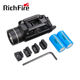 RichFire hunting flashlight 1000 Lumens weapon light gun light