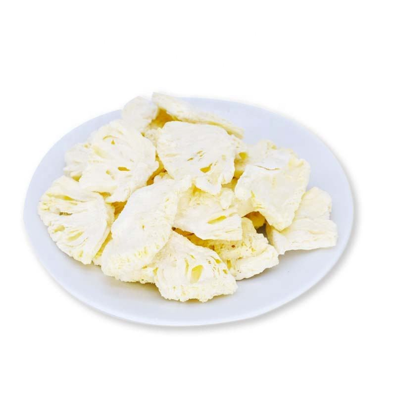 Chinese freeze dried pineapple origin market price dried pineapple slices pieces