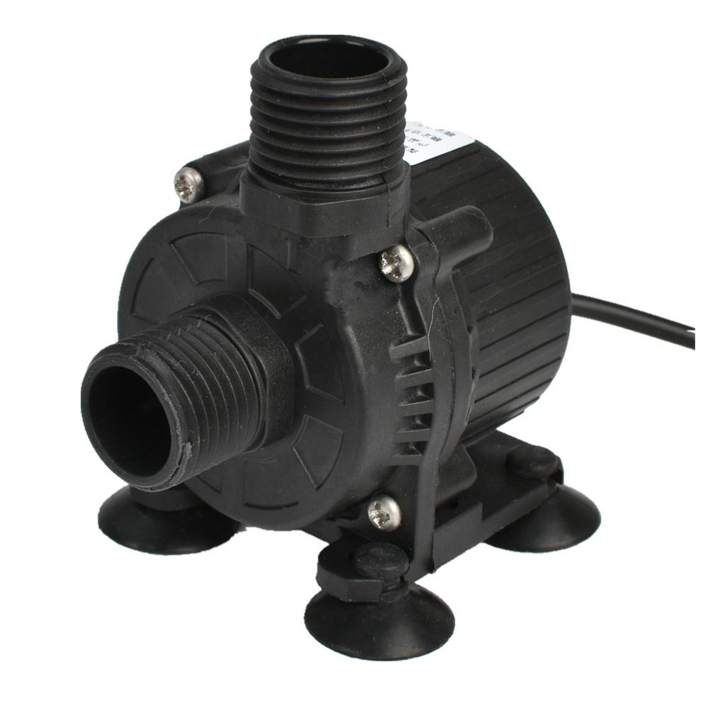 Giant DC High Pressure Submersible Water Pump Waterproof Reliable Micro Water Pump 6-24V 3-25w 0.5-6m 4-10LPM CE ROHS