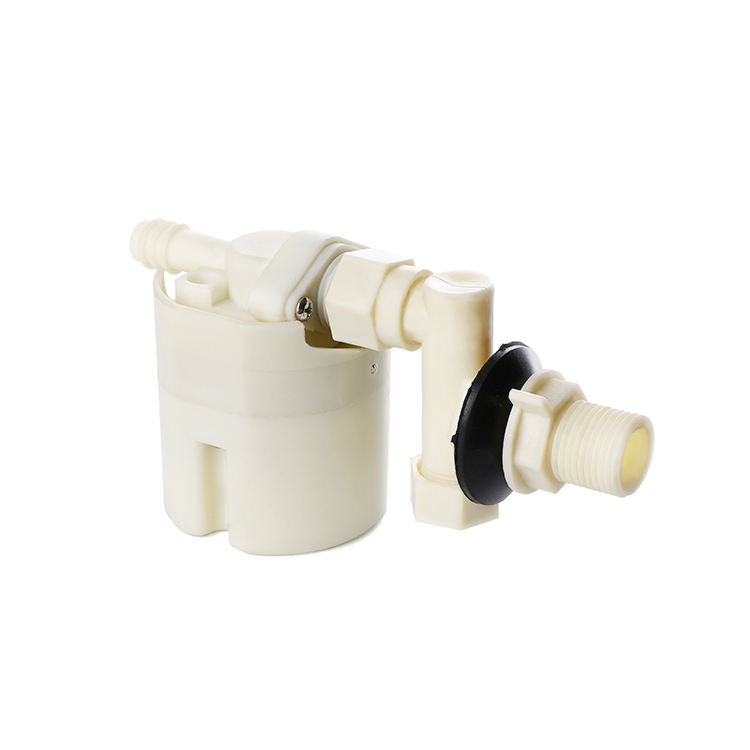 Multi-function mini side toilet fill valve with height adjustable