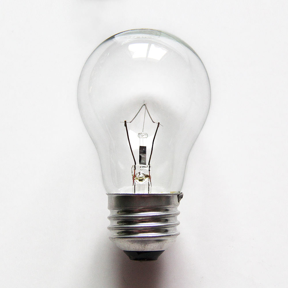 A15 24V 40W High power clear tungsten filament bulb for home