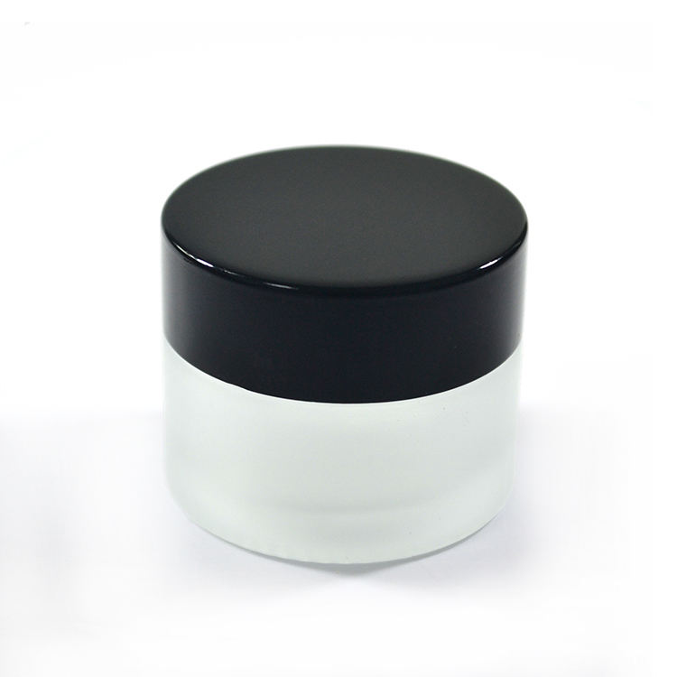5g 10g 15g 30g 50g 100g black amber frosted cosmetische crème <span class=keywords><strong>glazen</strong></span> <span class=keywords><strong>pot</strong></span> met deksel
