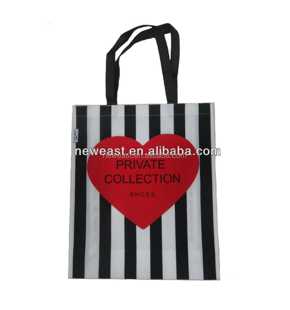 Top Quality Promotion Laminated Non Woven Shopping Bag Cute Reusable Shopping Bag