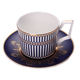 Bone china gold rim coffee sets modern Turkish Arabic porcelain coffee cup