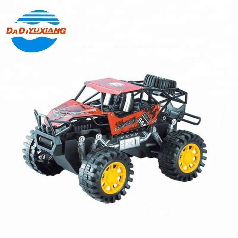 wholesale big wheels off road toy powered friction car for kids